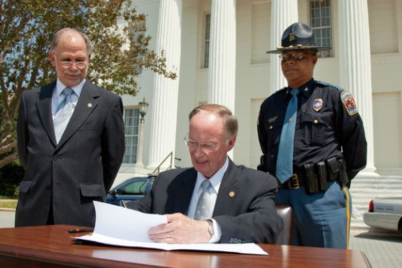 Alabama Governor Signs Bill That Makes State's Immigration Law Even Worse