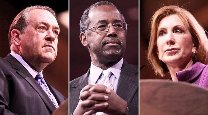 What GOP Presidential Hopefuls Fiorina, Carson, and Huckabee Have Said on Immigration
